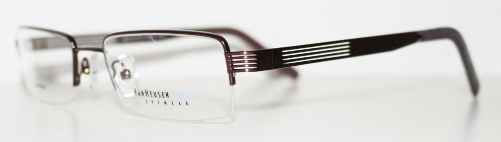 Eyeglass Frame Generator : VAN HEUSEN BENEFICIARY BROWN New Optical Eyeglass Frame ...