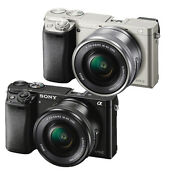 $479.00 Sony Alpha a6000 Mirrorless Camera w/16-50mm Lens (Black, Silver or White)