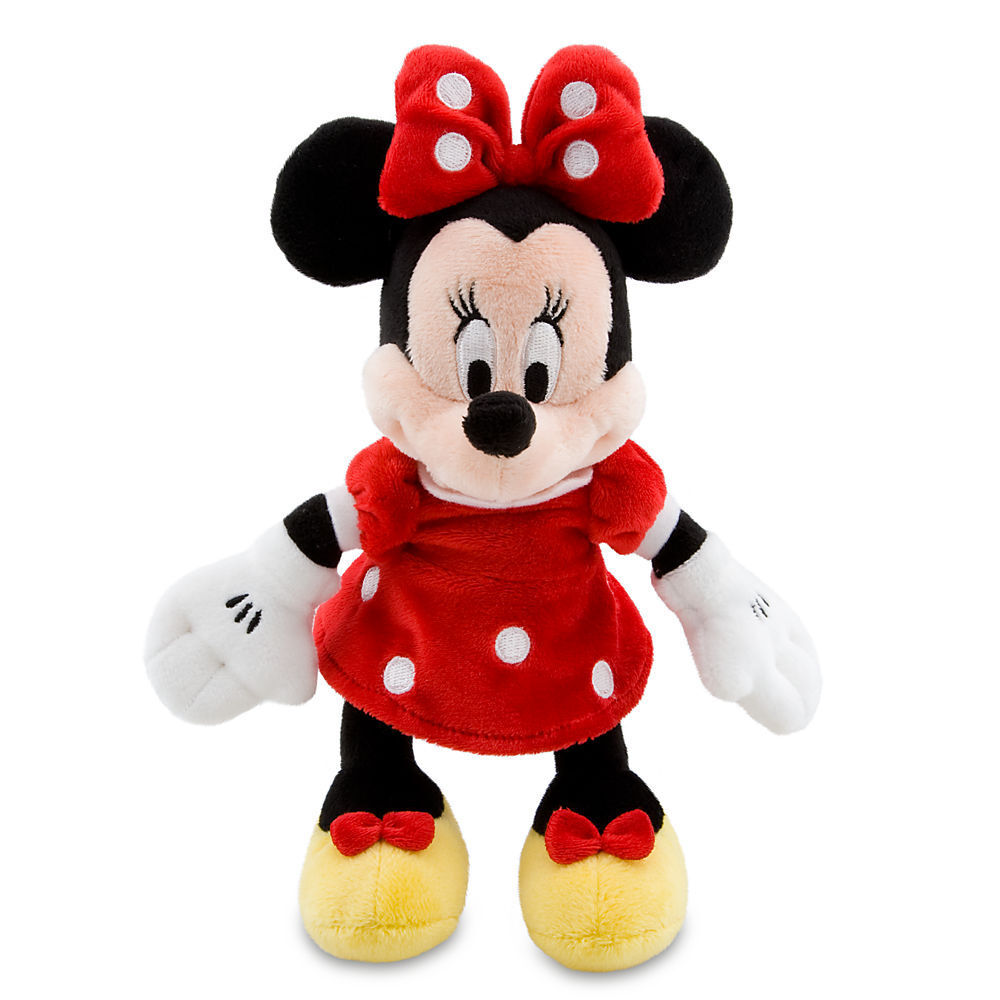 Toys For Disney : Disney store minnie mouse red polka dot plush mini toy