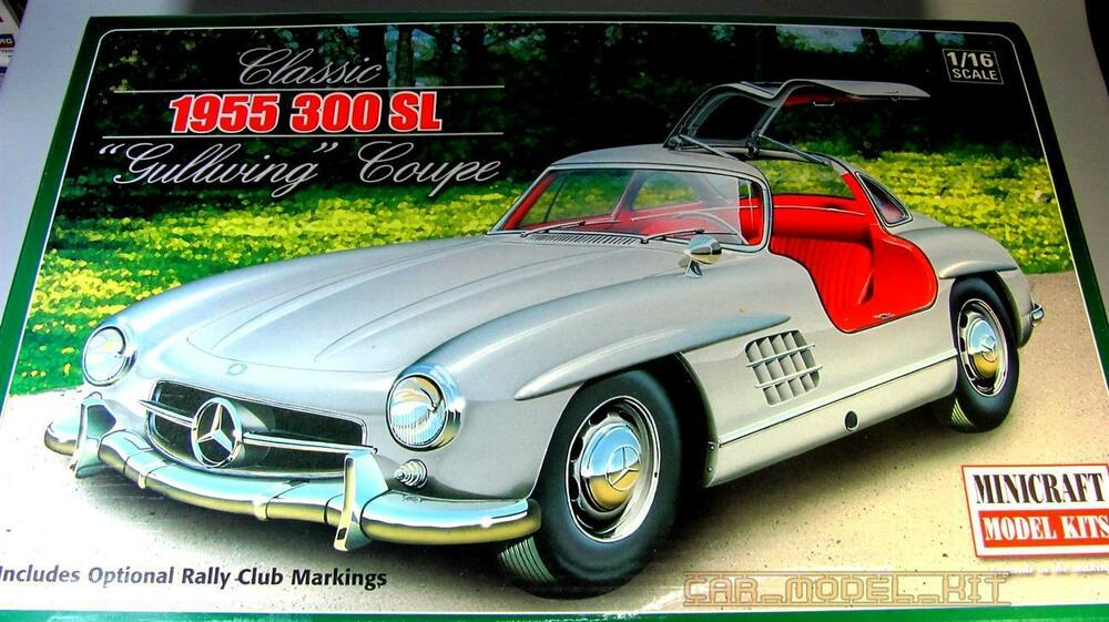 1 16 minicraft 11227 1955 mercedes 300 sl gullwing coupe. Black Bedroom Furniture Sets. Home Design Ideas