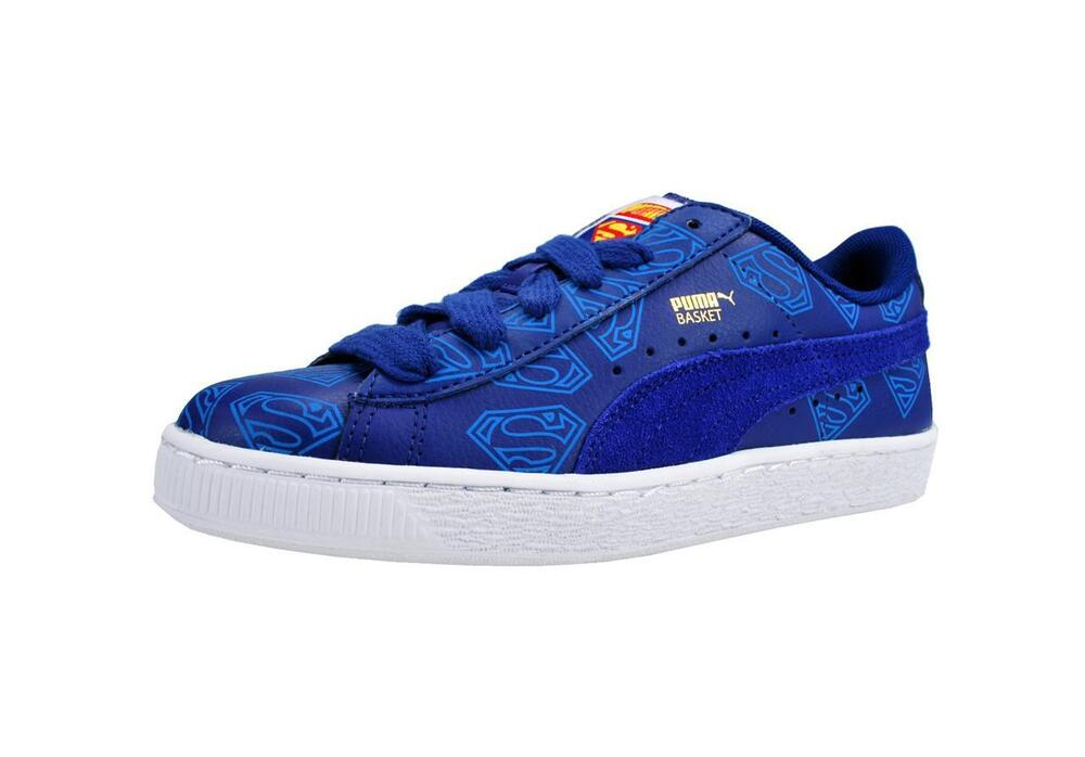 Blue Puma Shoes For Big Boys