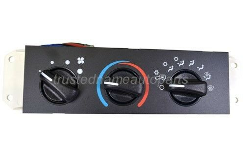 Hvac Blower Motor Control Switch Ac Heater For Jeep