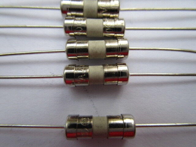 100 Pcs 3 6x10mm T15a 15amp 250v Miniature Ceramic Fuse