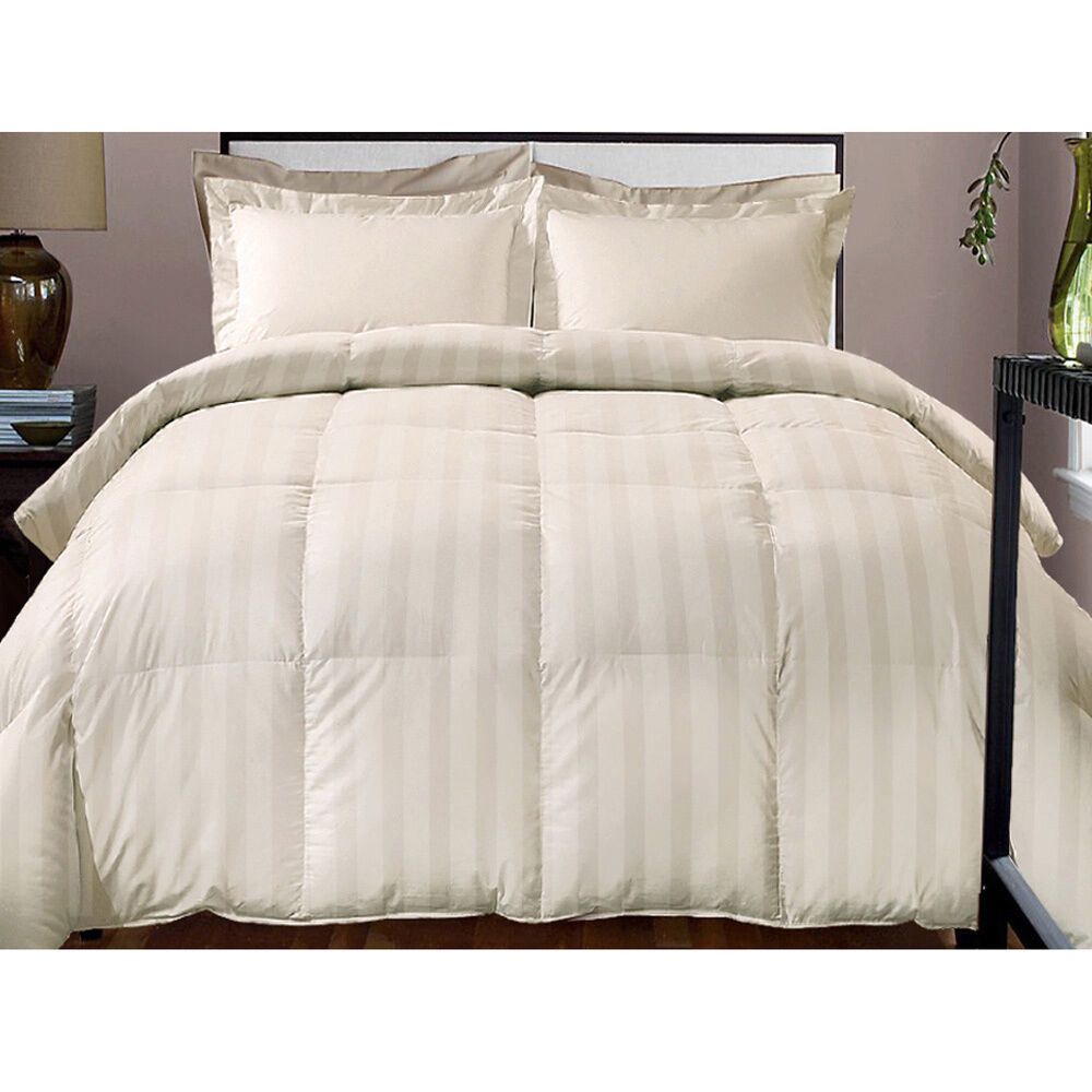 Hotel Grand Damask Stripe 800 Thread Count Cotton Rich