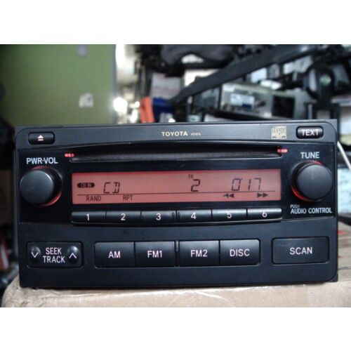 toyota-matrix-20042008-cd-player-radio-by-matsushita-a51816-tested-58716gs