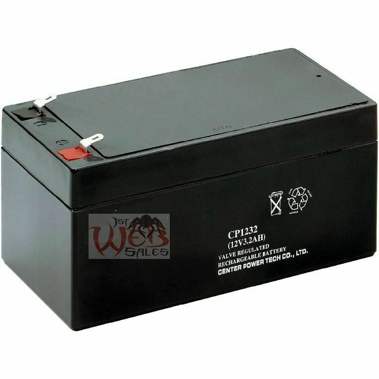 rbc35 wp3 12 replacement battery 12v 3 5ah for apc new ebay. Black Bedroom Furniture Sets. Home Design Ideas