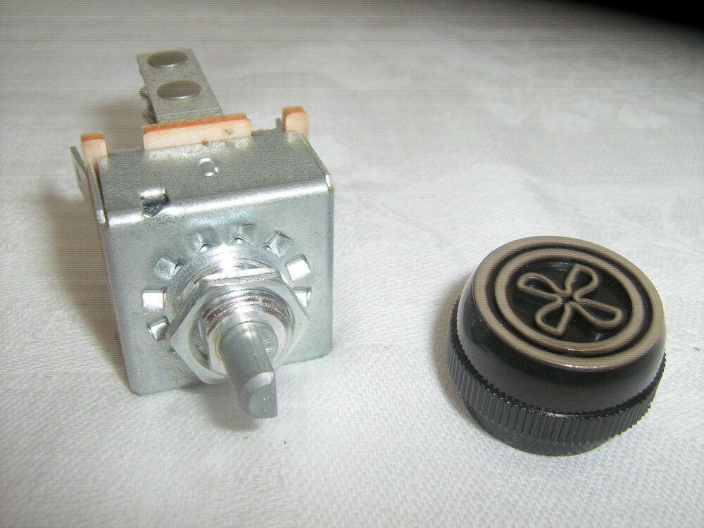 Air Conditioning 3 Speed Blower Switch With Resistor