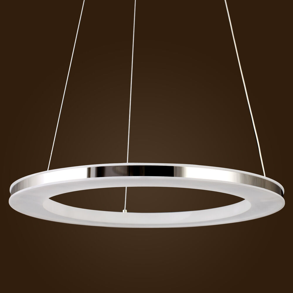 Led Modern Contemporary Ring Acrylic Ceiling Pendant Lamps