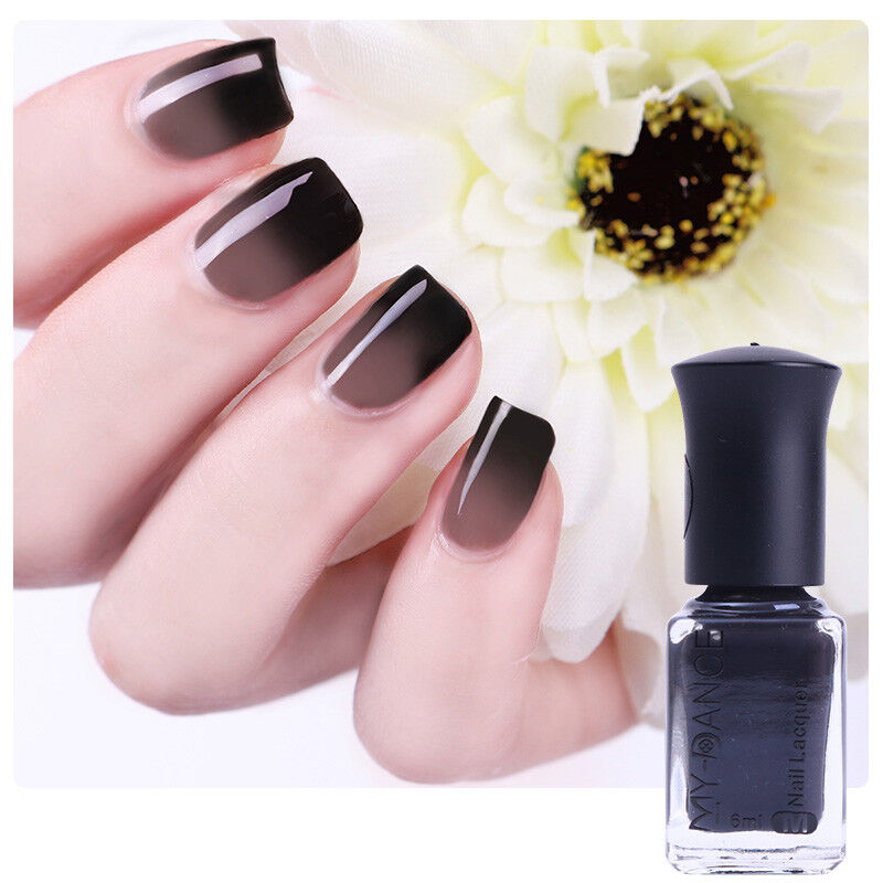 6ml Thermal Temperature Color Changing Polish Peel Off