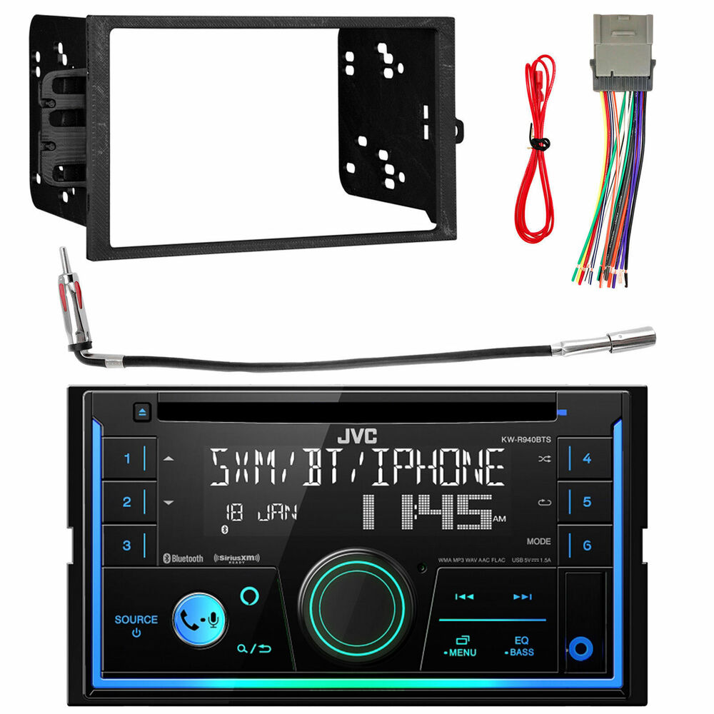 Xdvd256bt Double Din Usb Car Radio Player Install Mount Kit Wire Wiring Harness 04 Astro Antenna 799861390350 Ebay