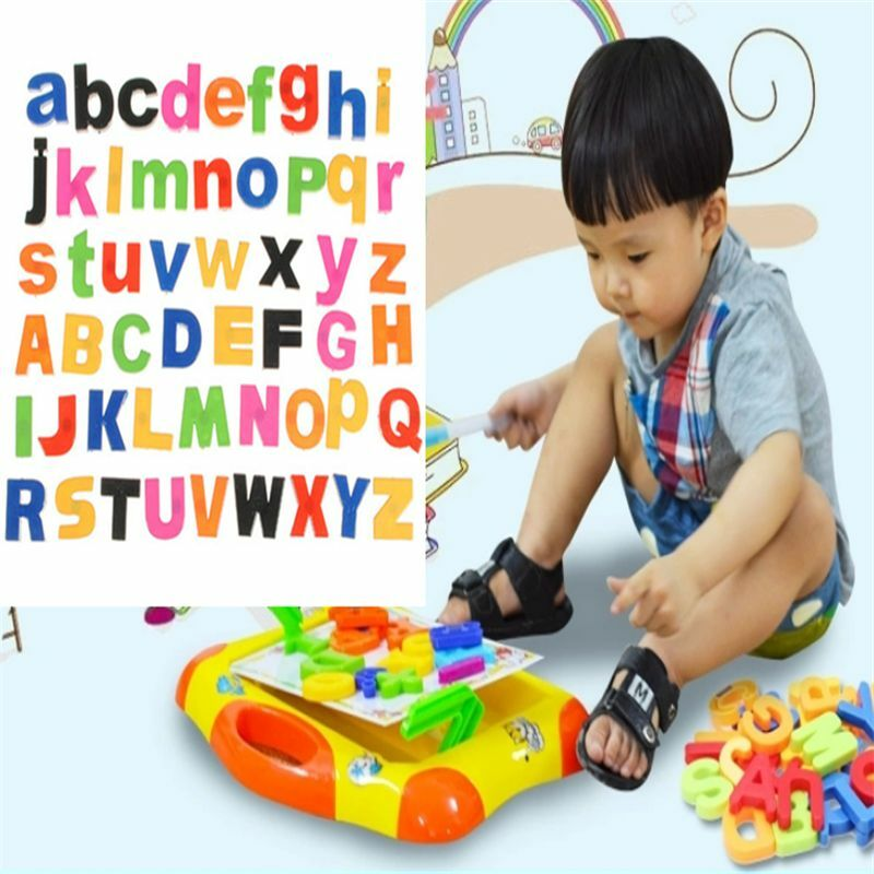 Fun 52 MAGNETIC Lower/Upper Case ALPHABET LETTERS ...