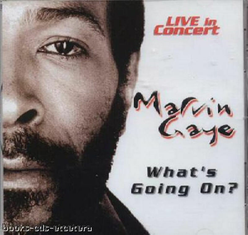 CD ~ MARVIN GAYE - What's Going On? ~ Live