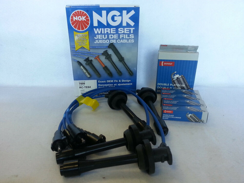 1997 1999 Toyota Corolla Ngk Wire Set Quot Te64 Quot 4x Denso