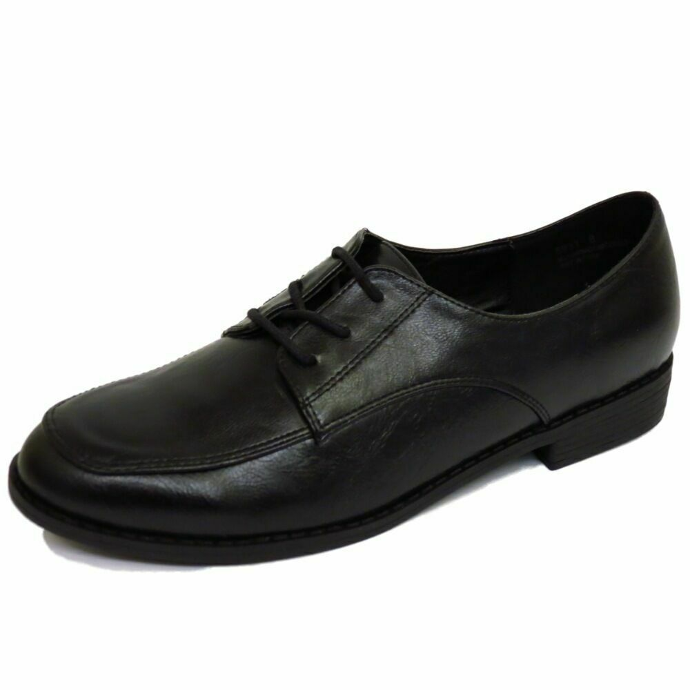 Flat Shoes Black For School
