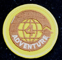 4 WORLD ADVENTURE HAT PATCH USA PATRIOTIC US ARMY NAVY AIR FORCE MARINES WOW