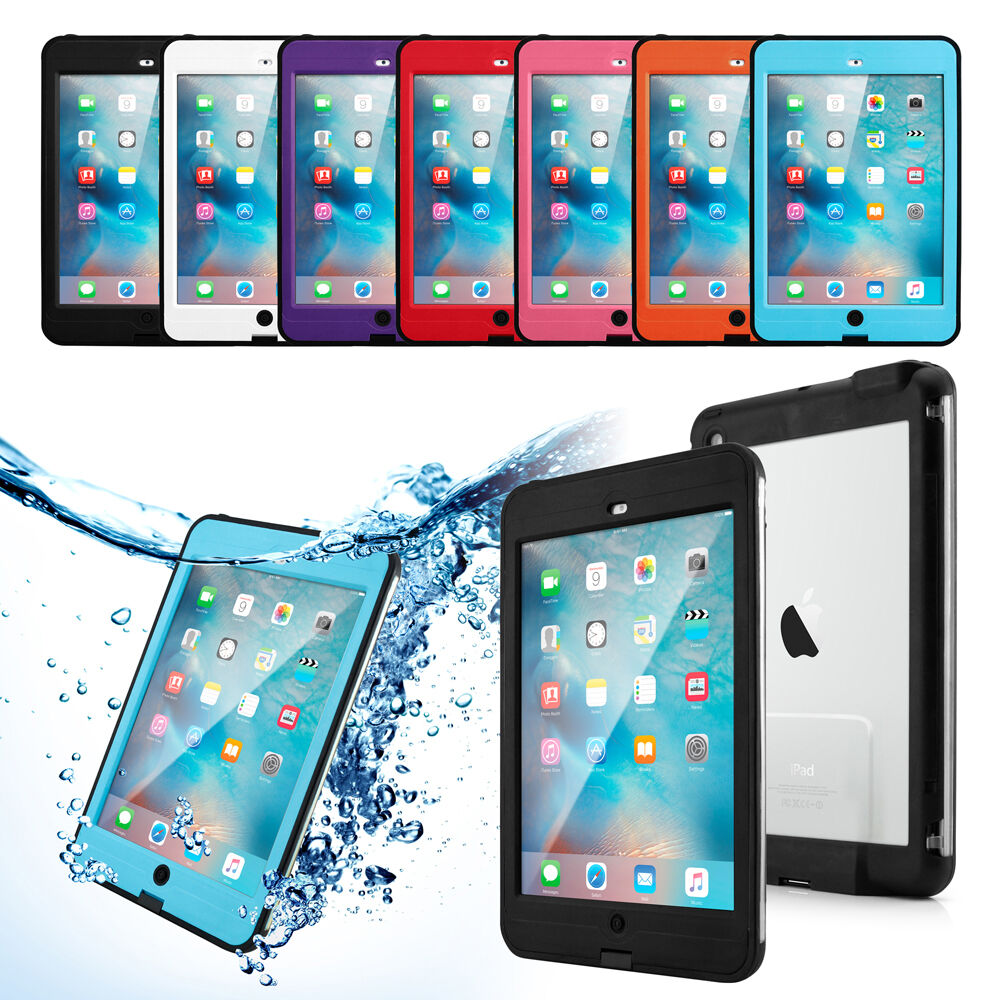 waterproof shock dirt proof protective case cover for apple ipad mini 1 2 3 ebay. Black Bedroom Furniture Sets. Home Design Ideas