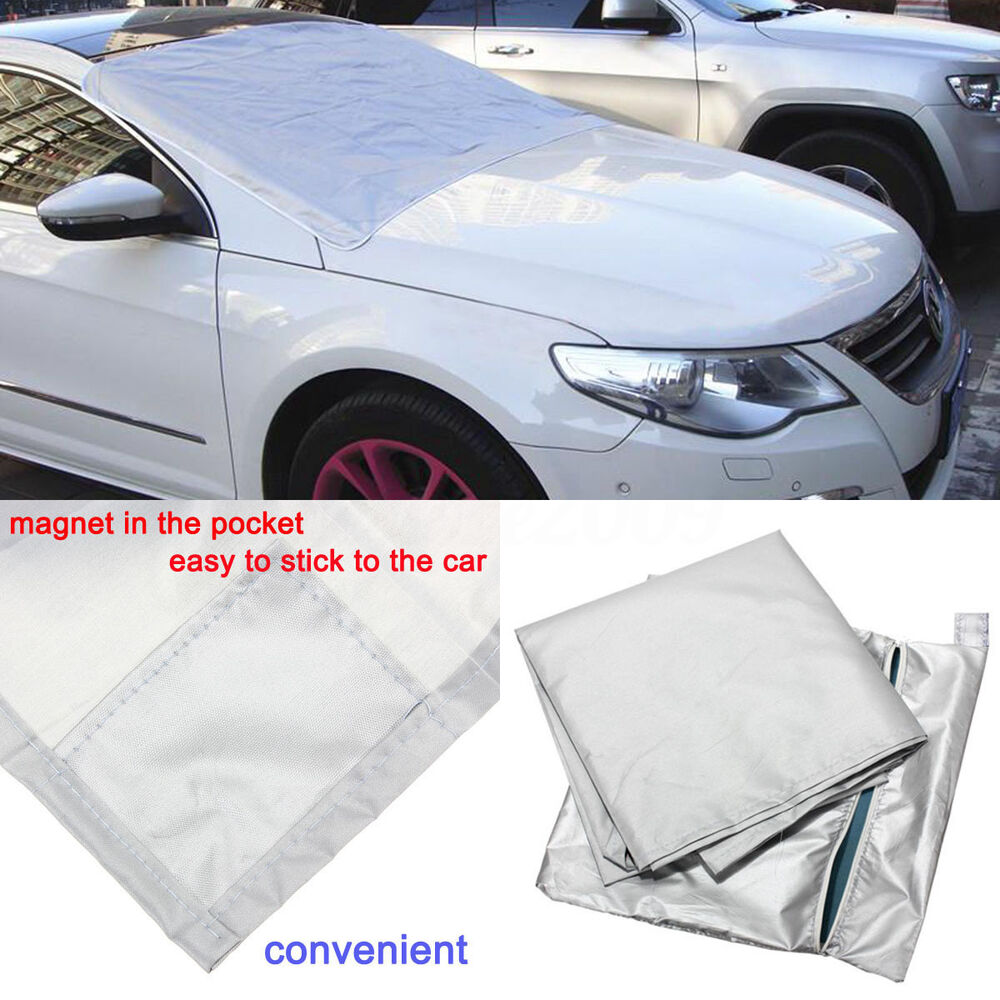 auto expression winter windshield cover warrior snow ice protector magnetic ebay. Black Bedroom Furniture Sets. Home Design Ideas