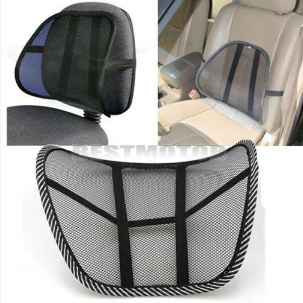 back lumbar support for office chair home sofa car seat cushion ebay