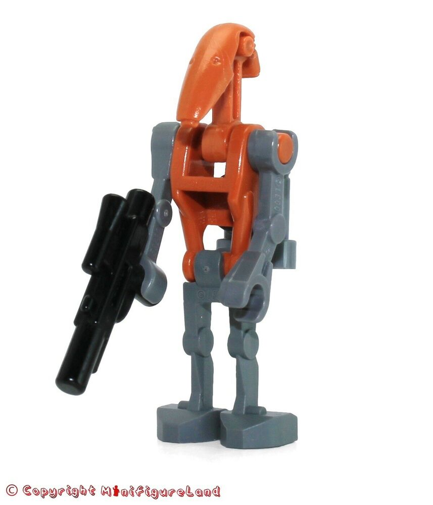 lego star wars minifigure rocket battle droid from set. Black Bedroom Furniture Sets. Home Design Ideas