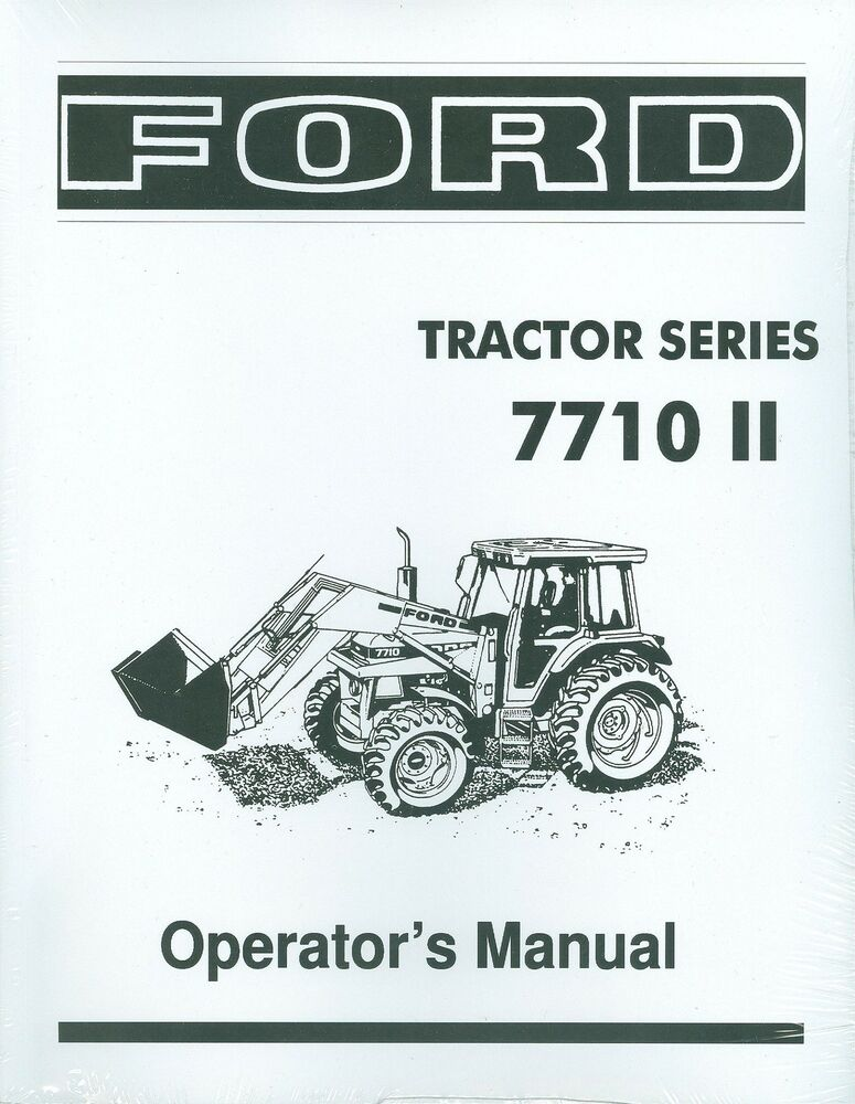Ford tractor Owners Manual 3910