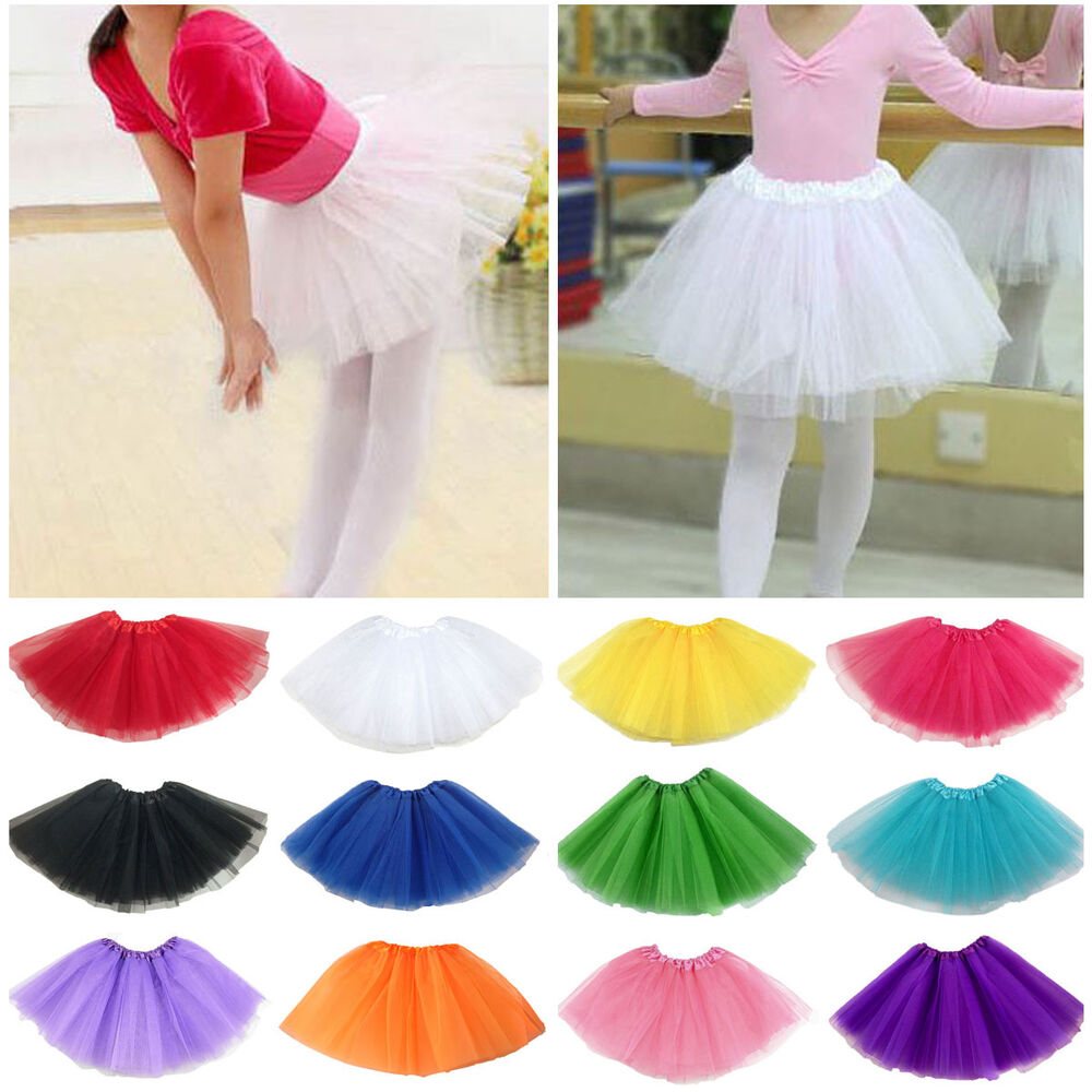 Tutus Tutu: Cute Baby Kids Girls Tutu Skirt Princess Dressup Party