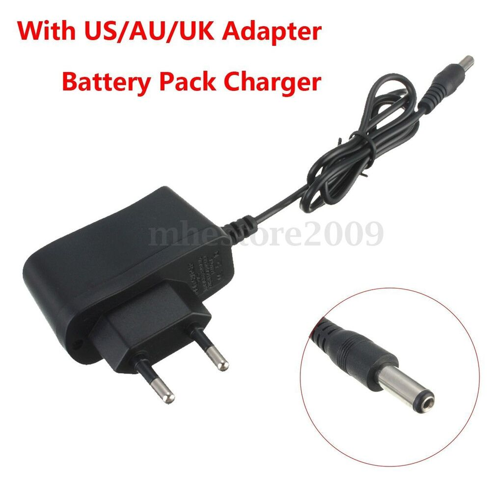 Eu Plug Charger For 4 2v Battery Pack Bicycle Headlamp