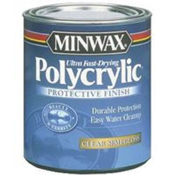 how to clean up from minwax polyurethane clear gloss