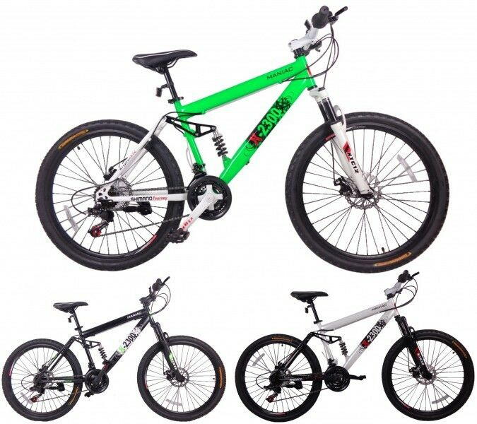 26 zoll mountainbike fahrrad schwingfedederung mtb fully. Black Bedroom Furniture Sets. Home Design Ideas