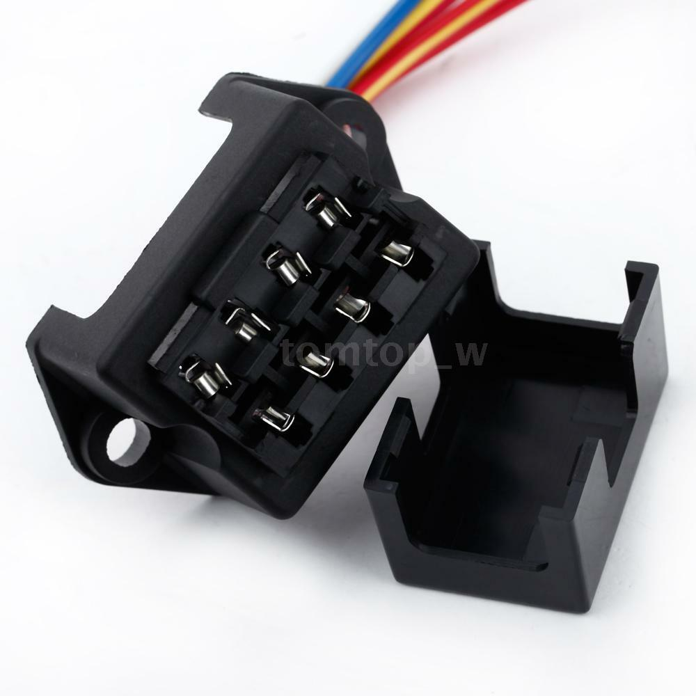 32v 4 way circuit car boat automotive blade fuse box block. Black Bedroom Furniture Sets. Home Design Ideas
