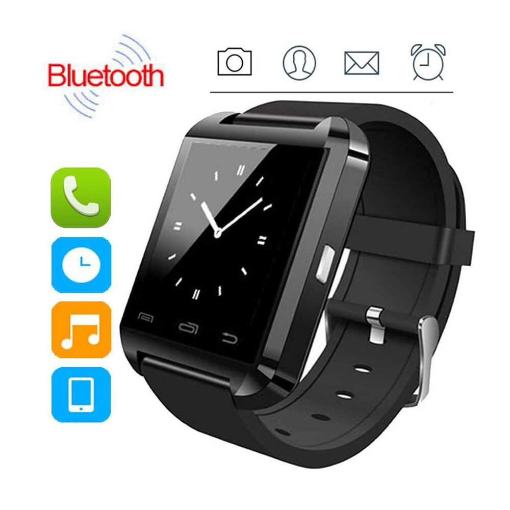 2Pcs Bluetooth Smart Watch For Android Smartphone Samsung ...