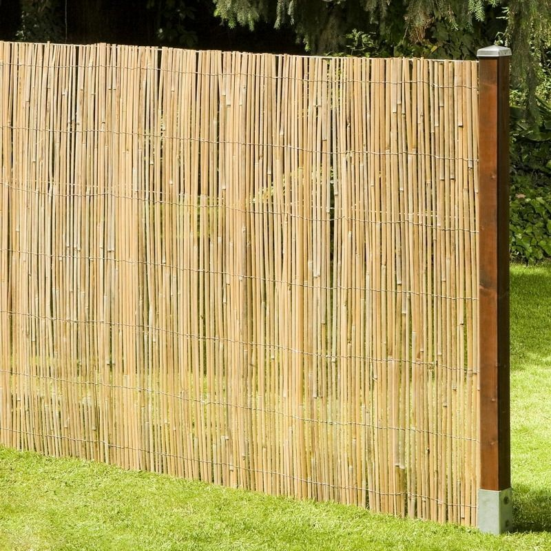 sichtschutz macao bambusmatte bambus garten zaun windschutz garten 200x500 cm ebay. Black Bedroom Furniture Sets. Home Design Ideas