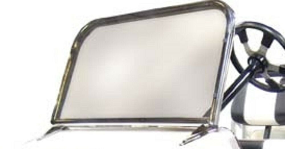 Jakes Stainless Steel Sport Windshield For Club Car Ds