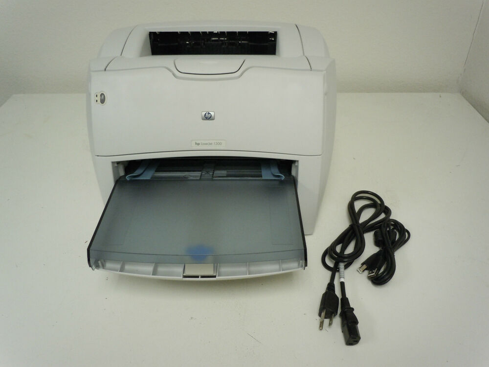 hp laserjet 1300 printer complete w brand new paper tray warranty no dust cover 808736420631 ebay. Black Bedroom Furniture Sets. Home Design Ideas