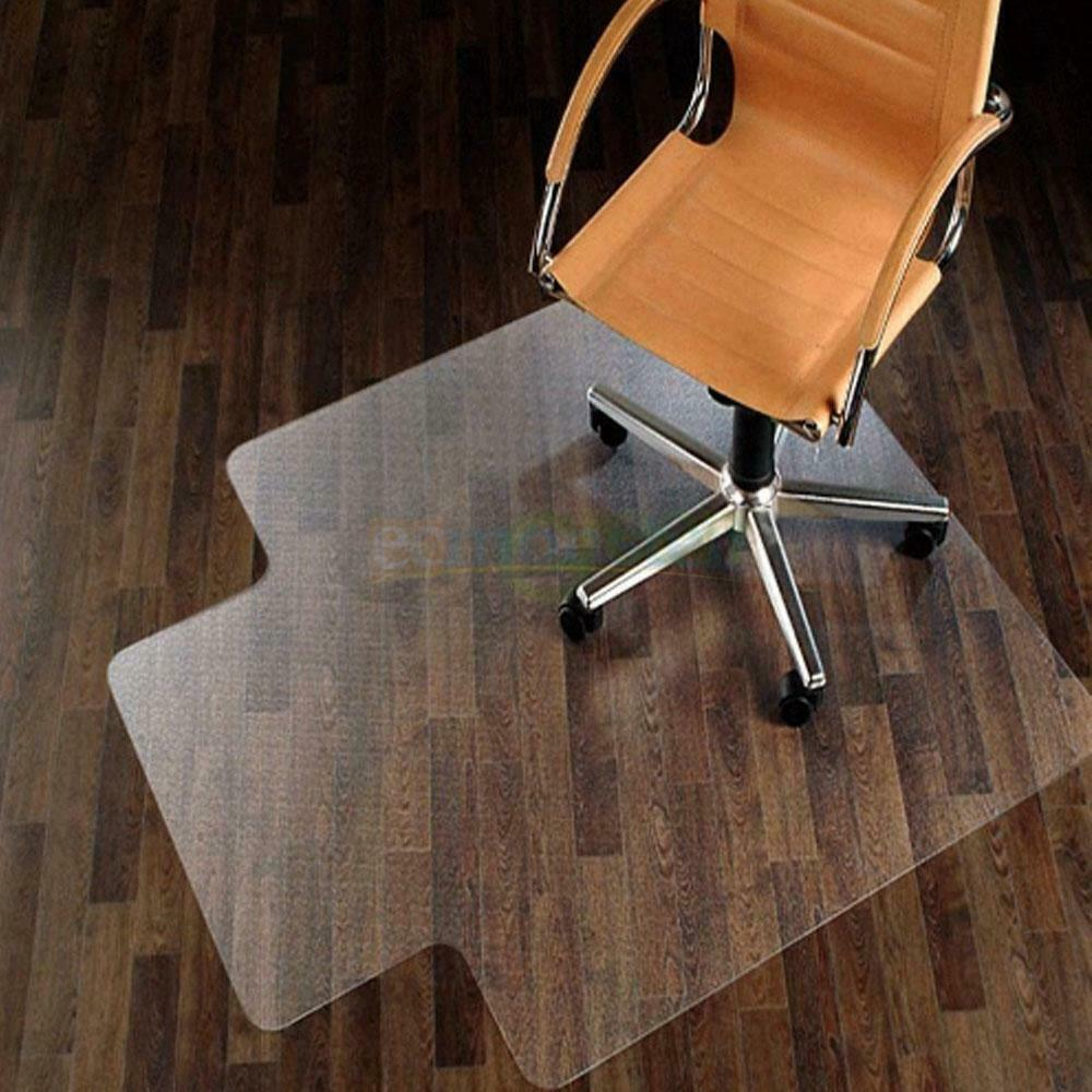"""New 48"""" X 36"""" PVC Home Office Chair Floor Mat For Wood"""