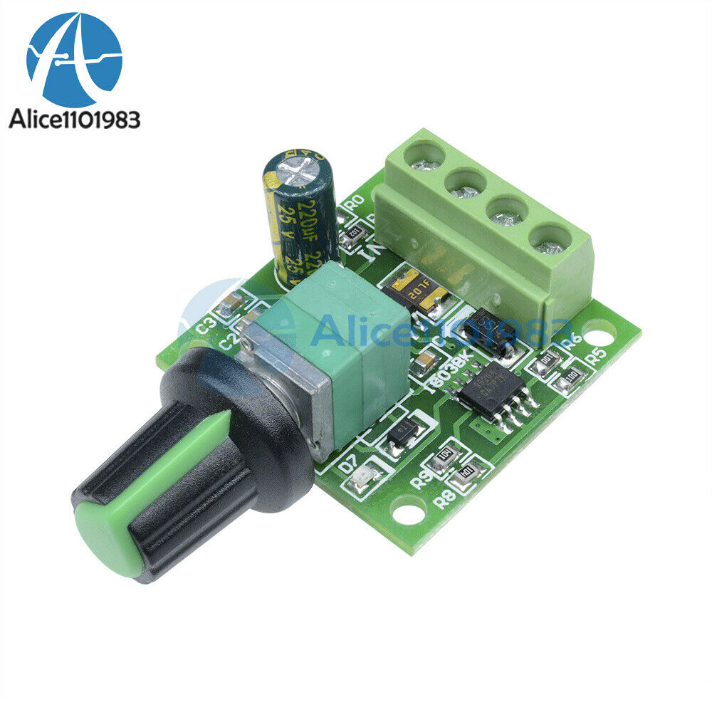 2a Motor Speed Switch Controller Pwm 1803bk Self Recovery
