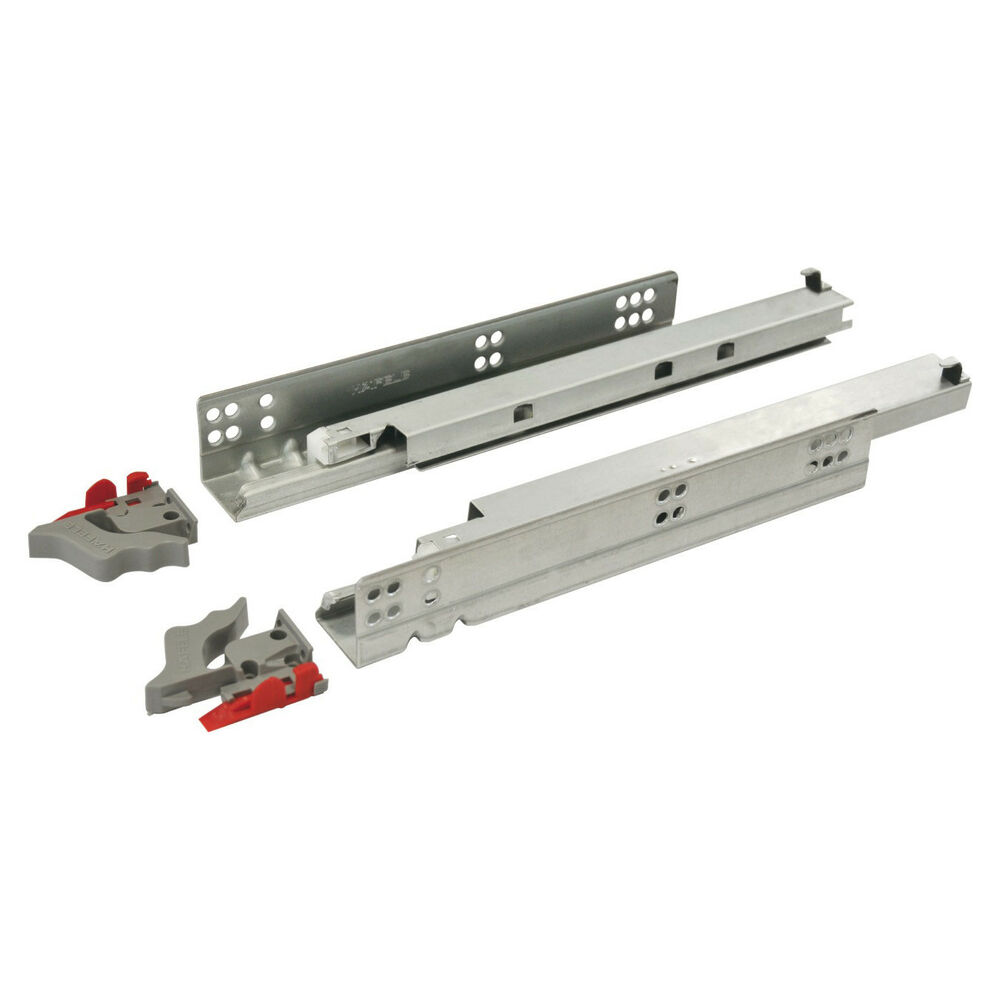 Concealed Drawer Runners Undermount Full Extension Soft