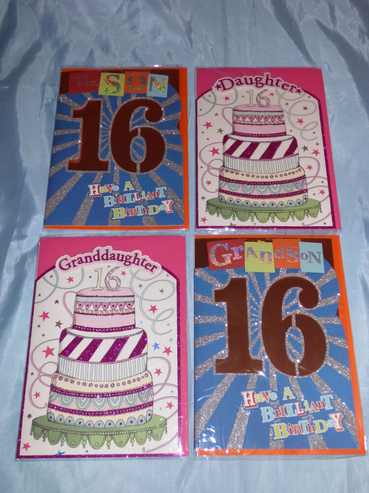 Son Th Birthday Cards Uk ~ Birthday card son daughter grandson or granddaughter th