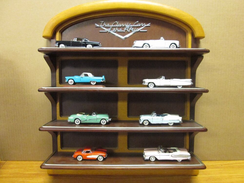 Mint Car: FRANKLIN MINT THE CLASSIC CARS OF THE FIFTIES WOODEN