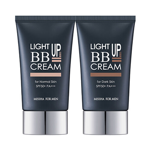 Beauty Story Cc Cream Real Complexion: [MISSHA] For Men Light Up BB Cream - 45g (SPF50+ PA+++)