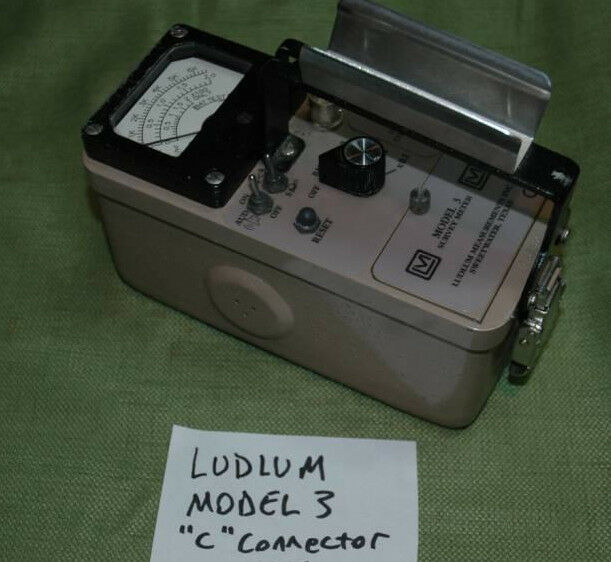 ludlum model 3 survey meter ebay. Black Bedroom Furniture Sets. Home Design Ideas