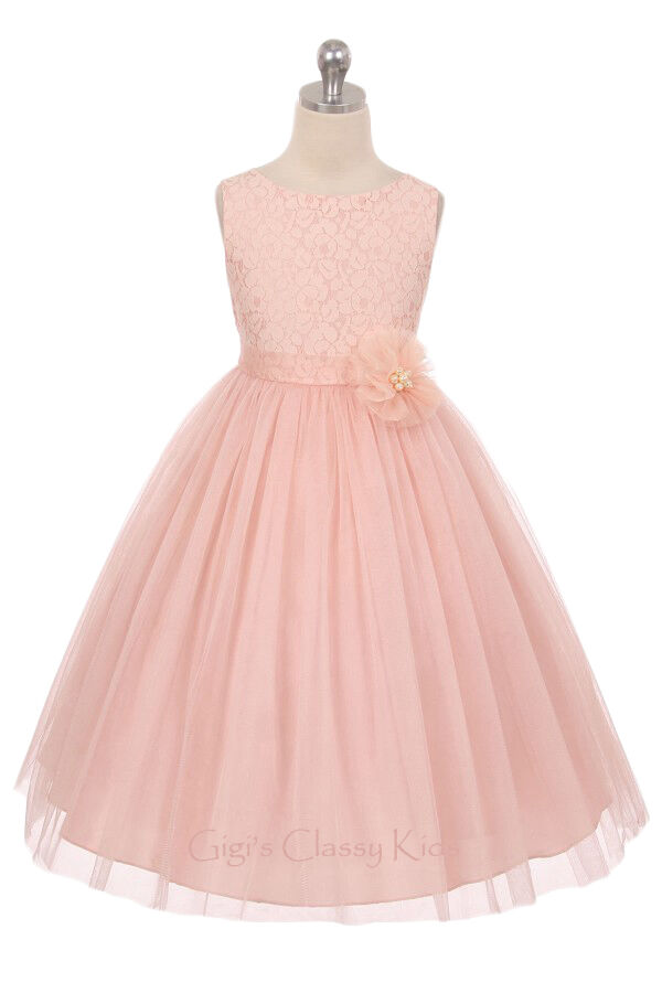 Who buys the flower girl dress