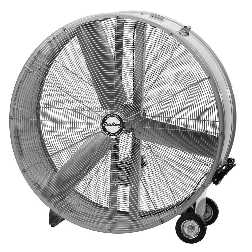 42 Inch Portable Fan : Air king d quot belt industrial grade high velocity