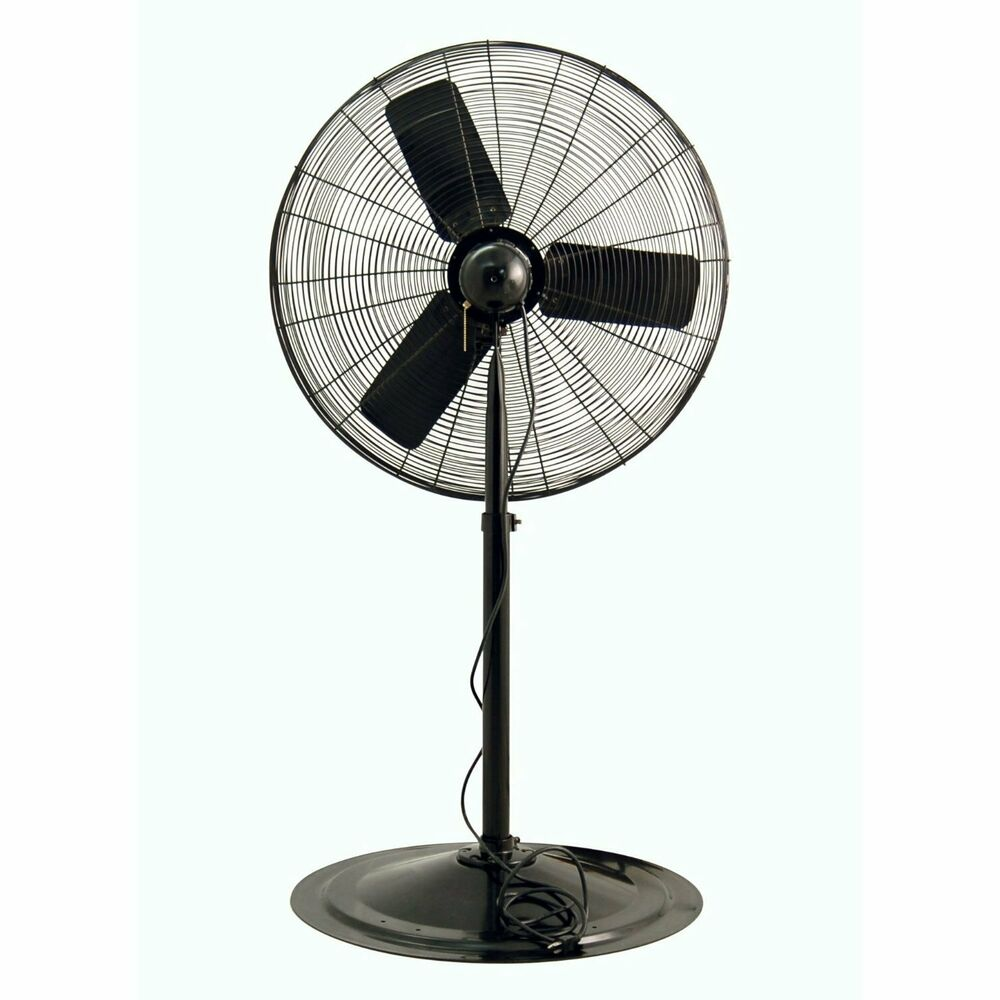 Air King Oscillating Pedestal Fan : Air king quot hp oscillating industrial grade