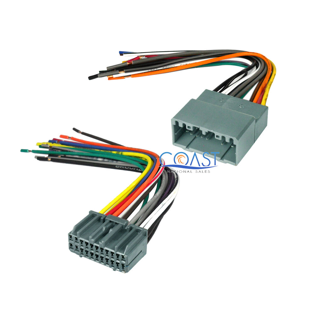 car stereo radio install wiring harness combo for 2002 ... chrysler wiring harness pins chrysler wiring harness