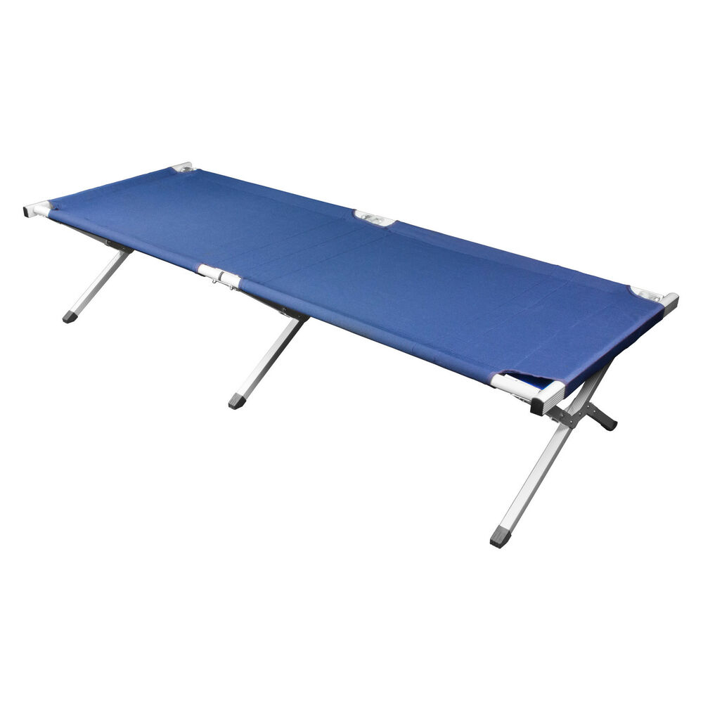 Deluxe Heavy Duty Military Folding Cot 500 Pound Capacity
