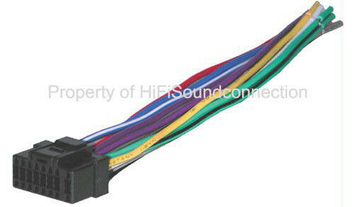 Alpine Bhalp16a Replacement Wire Harness 16