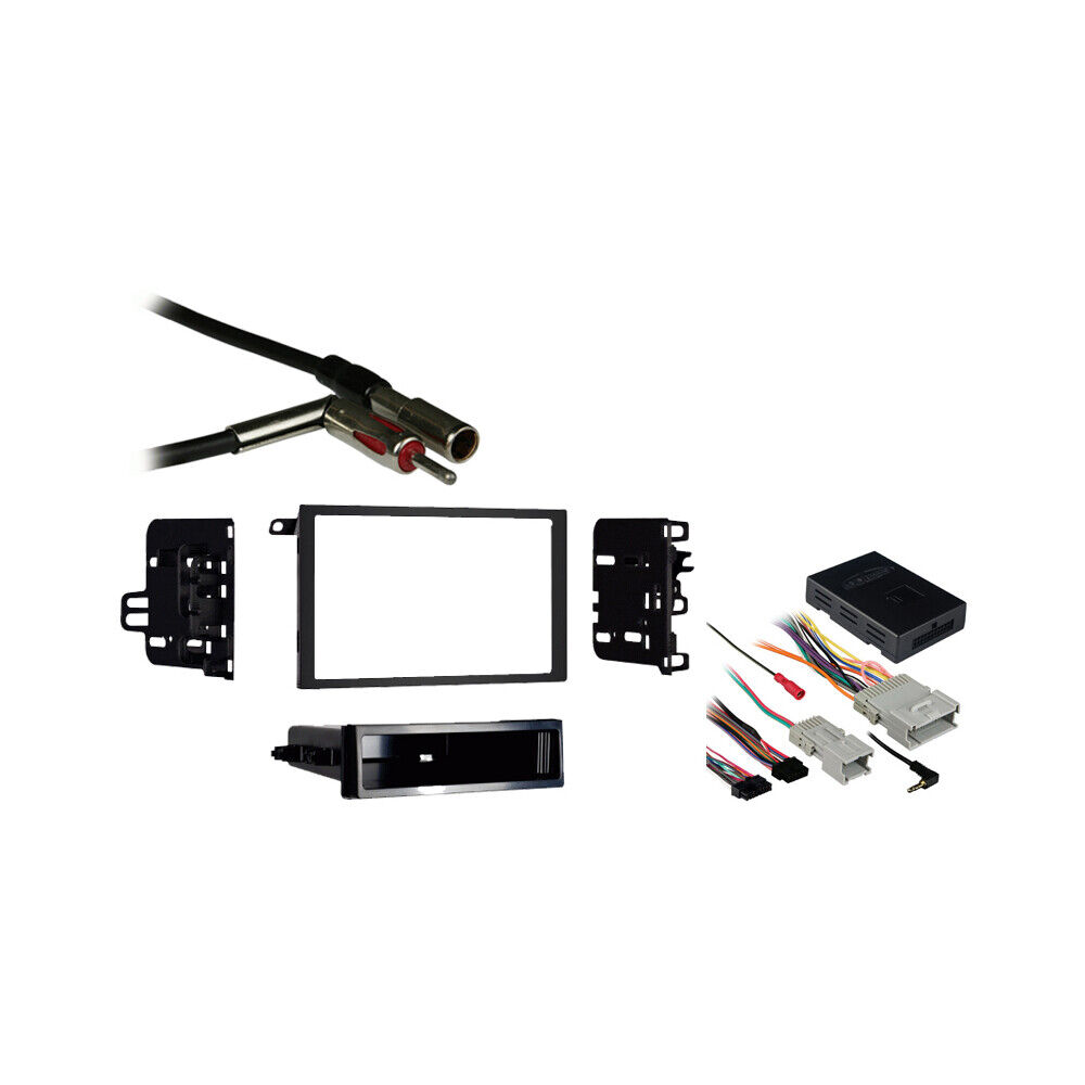fits chevy avalanche 03 06 double din stereo harness radio. Black Bedroom Furniture Sets. Home Design Ideas