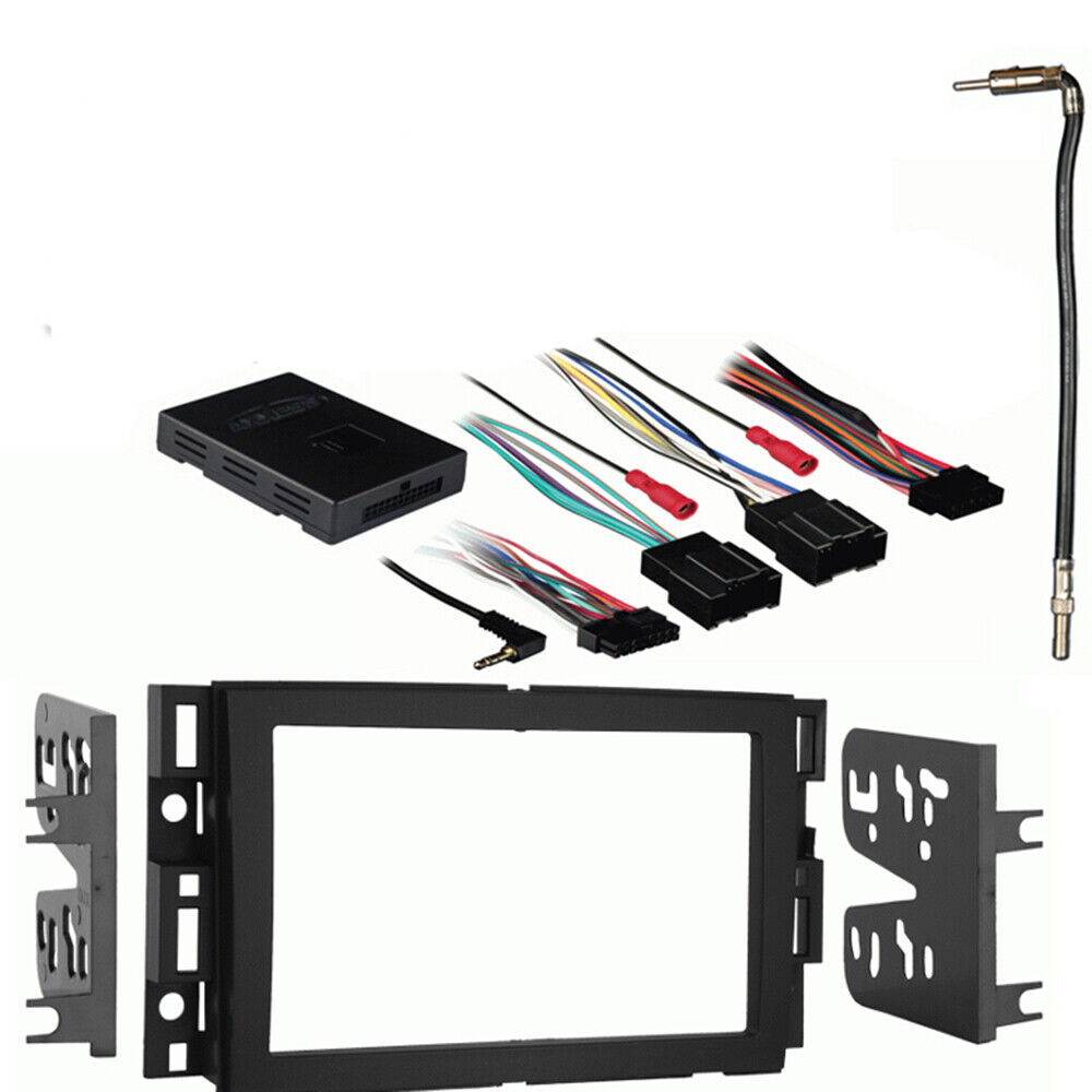 Fits Chevy Express 2008 2012 Double Din Stereo Harness