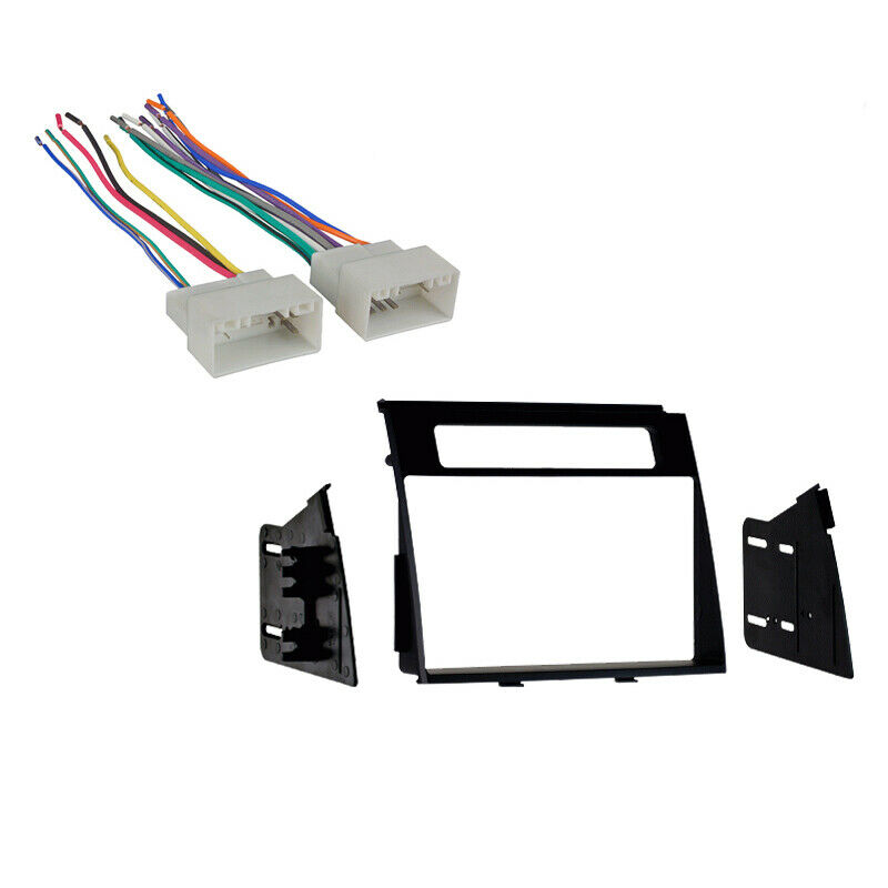 fits kia soul 2012 2013 double din aftermarket harness. Black Bedroom Furniture Sets. Home Design Ideas