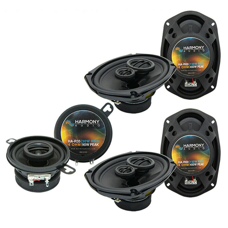 toyota camry 2007 2011 factory speaker upgrade harmony r69 r35 package new ebay. Black Bedroom Furniture Sets. Home Design Ideas